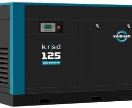 single stage rotary screw compressor KRSD