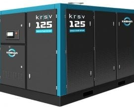 KRSV single stage rotary screw air compressor